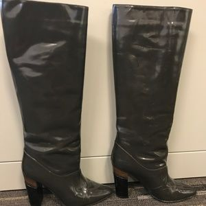 Marni Patent Leather Boot - Size 38